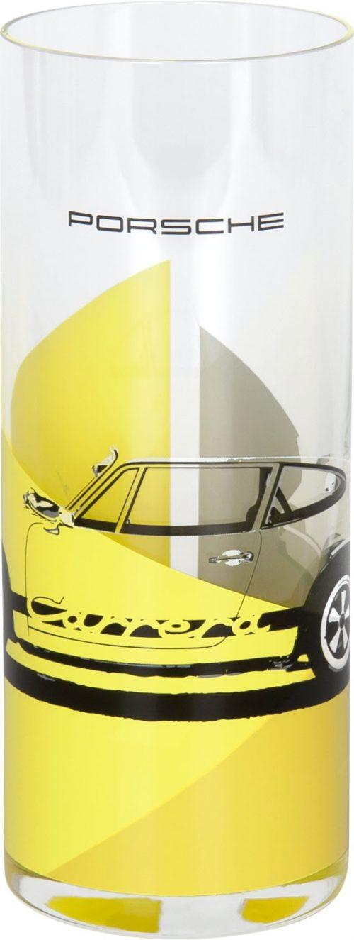 Porsche Glas Gelb